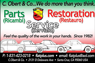 Fiat Parts & Supplies by C. Obert & Co.